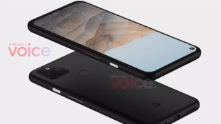 Google Pixel 5a leaks, looks suspiciously like the 4a