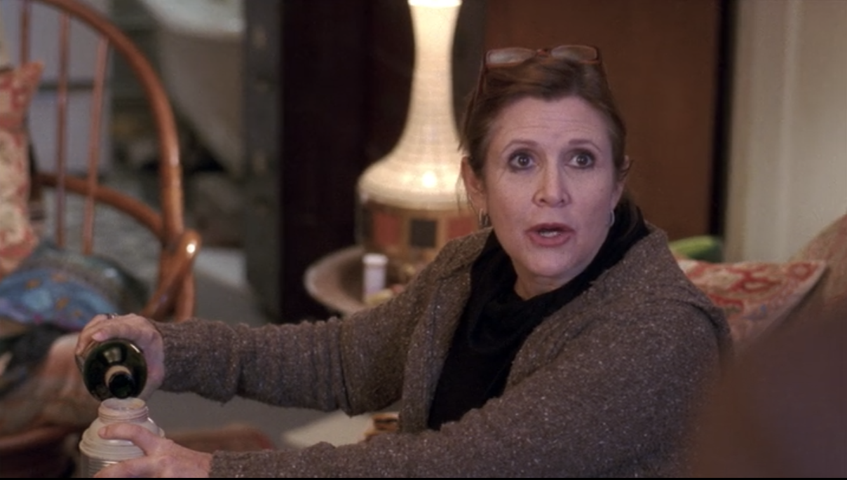 carrie fisher 30 rock