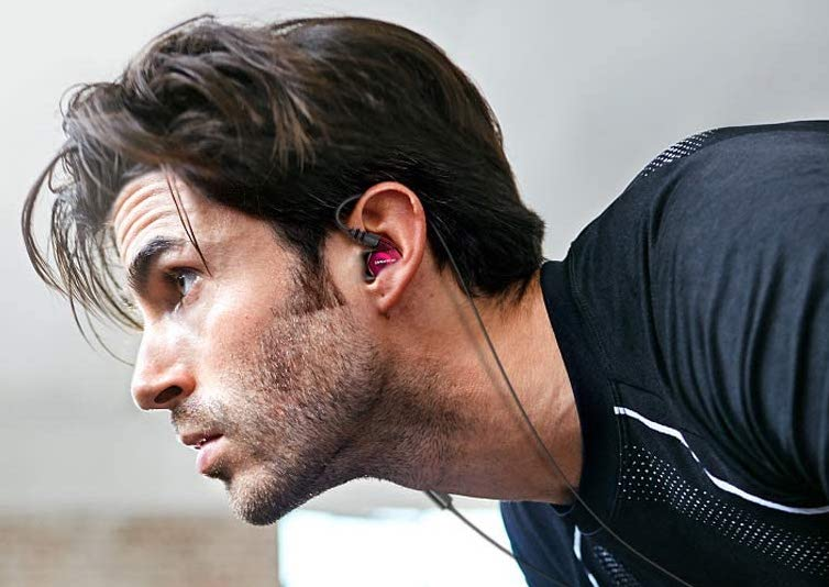 Best cheap running headphones: Rovking Sweatproof Workout Headphones