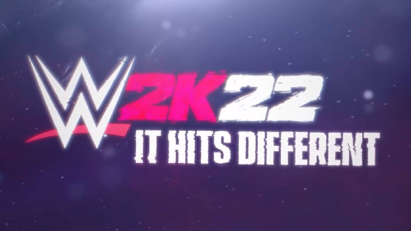 WWE 2K22 It hits different