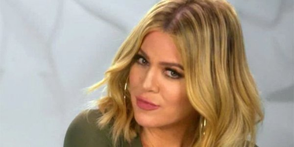 Khloe Kardashian long hair KUWTK 2017