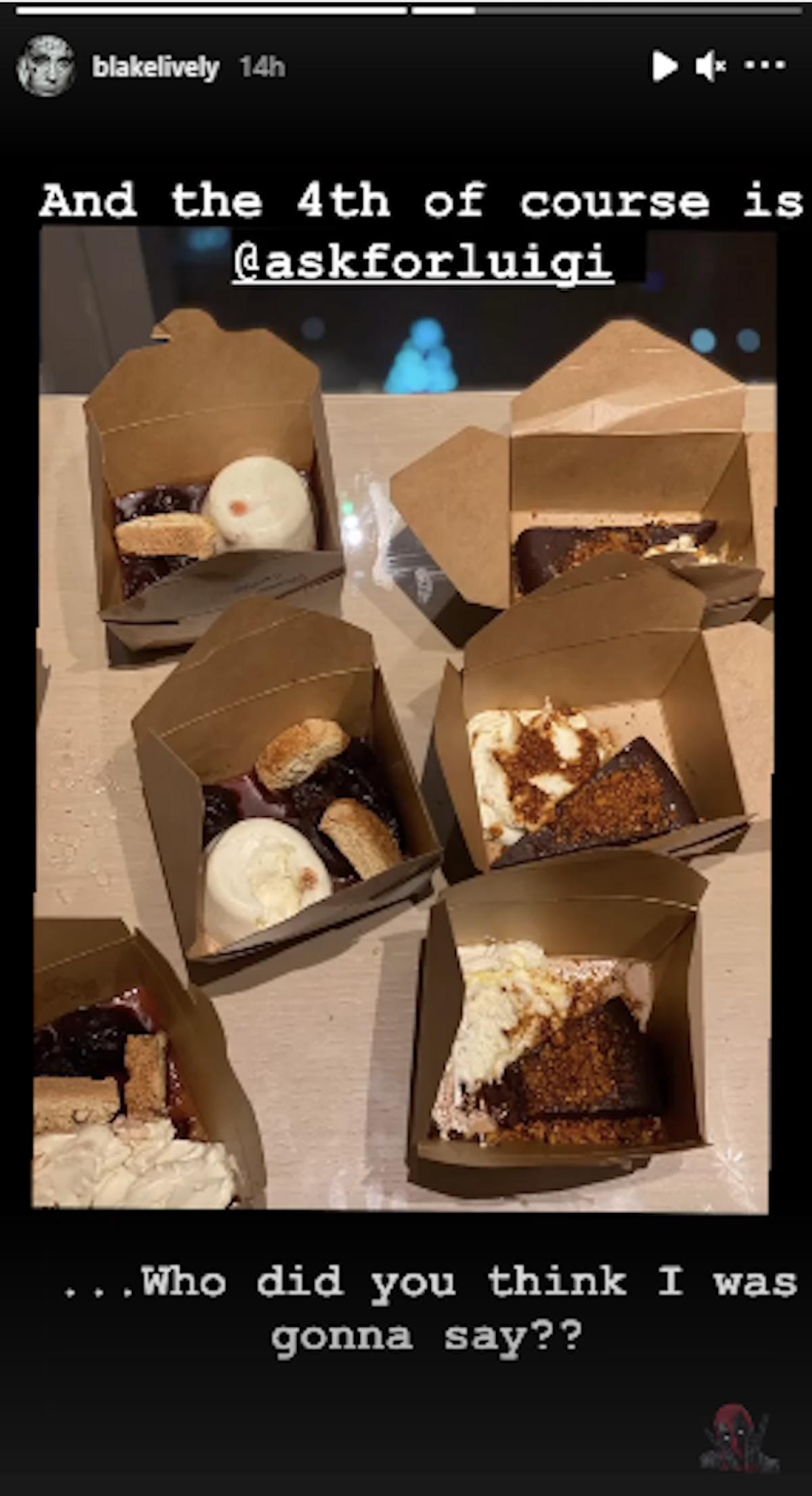 Blake Lively favorite thing vancouver, Canada, luigi pie