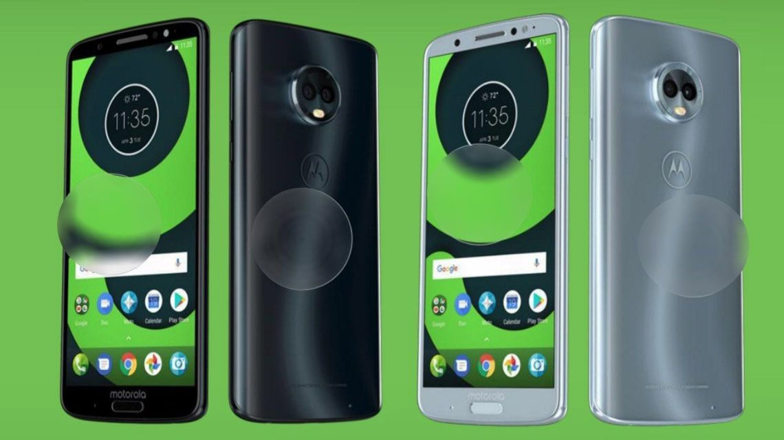 Moto G6 Plus leaked image shows the phone in new colours