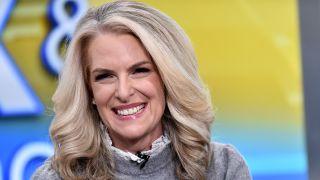 "Janice Dean presents on ""Fox & Friends"" at Fox News Channel Studios on Nov. 4, 2019 in New York City."