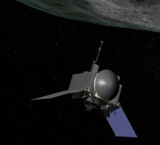 NASA's OSIRIS-REx spacecraft and Bennu Asteroid
