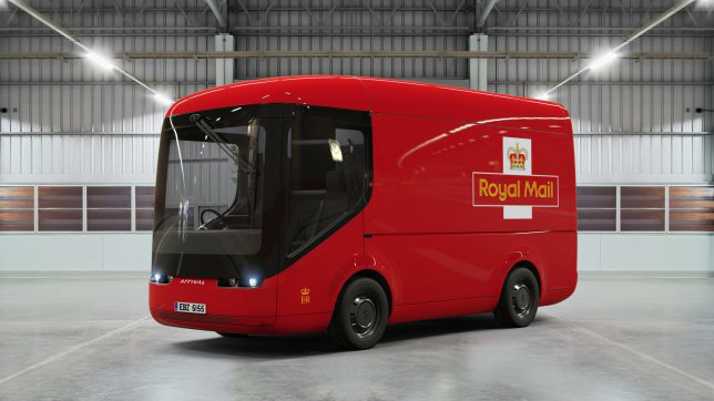 The new Royal Mail van is making us inexplicably happy | Creative Bloq