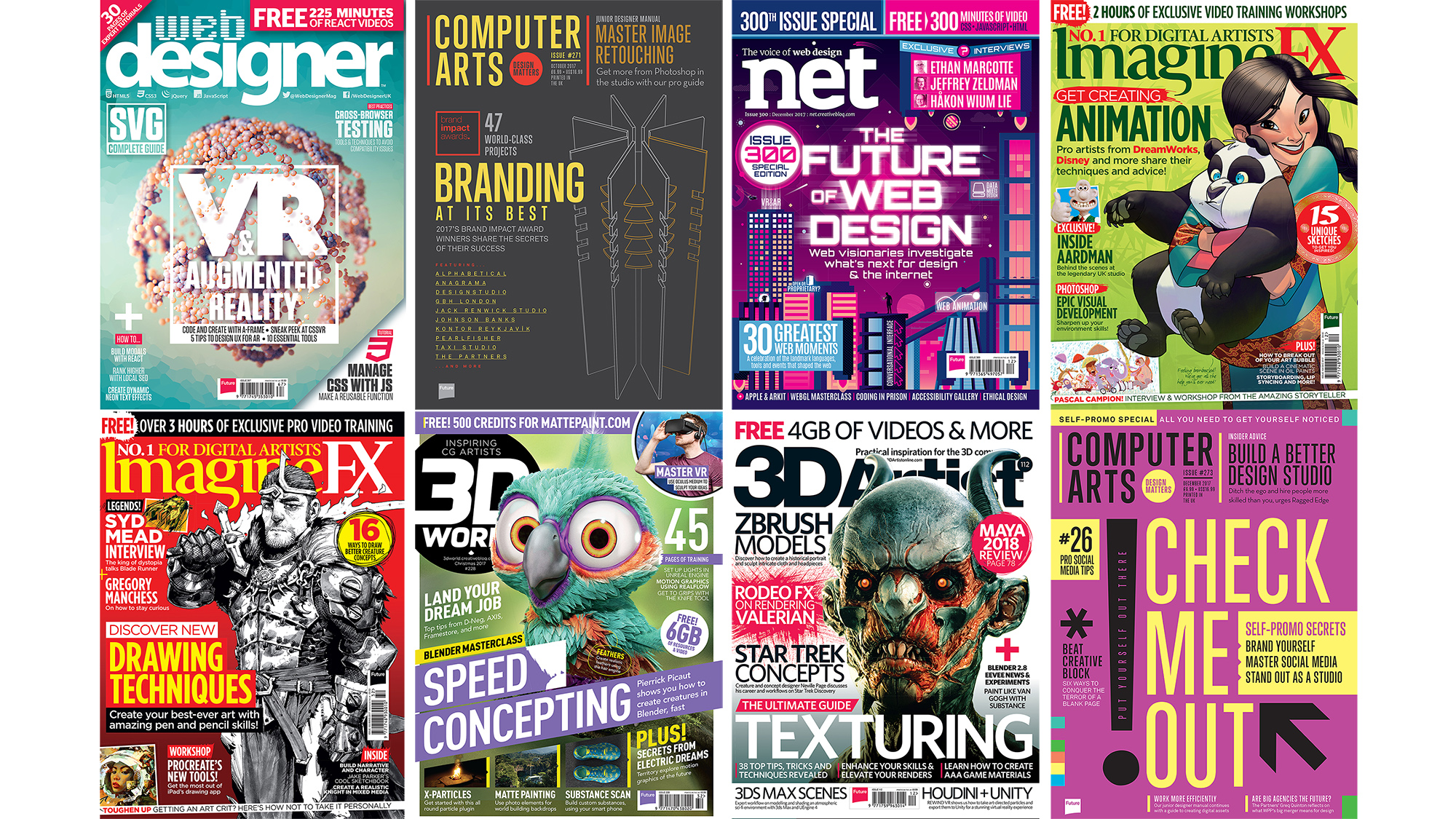 Get your work featured in an industry-leading magazine