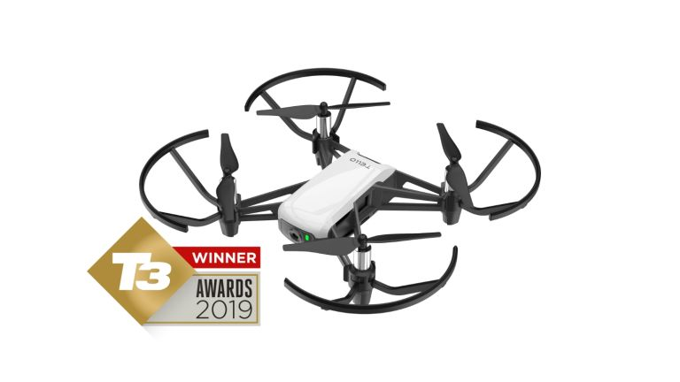 T3 Awards 2019 the Ryze Tello wins Best Budget Drone of the year