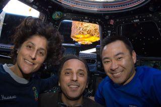 Astronauts Watch Olympics
