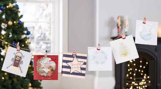 Aldi's christmas essentials christmas cards