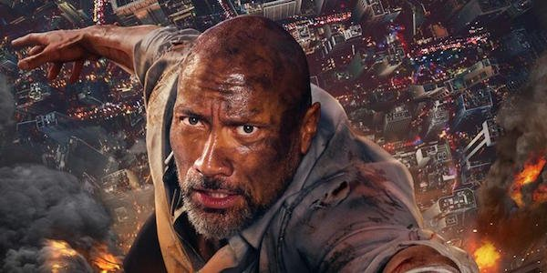 Skyscraper The Rock Dwayne Johnson