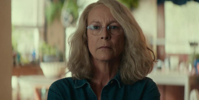 Halloween Kills' Jamie Lee Curtis Shares Set Video, And A Bucket Of Blood Is Involved