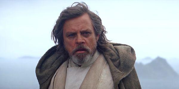 Mark Hamill as Luke Skywalker in Star Wars: The Force Awakens
