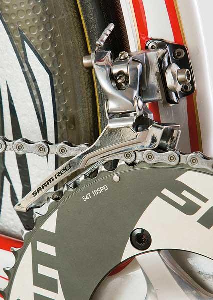 Fabian Cancellara's Specialized team bike 2009