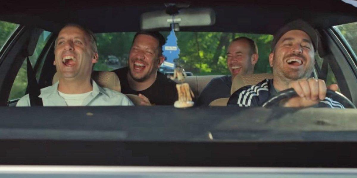 Joe Gatto, James Murray, Brian Quinn, and Sal Vulcano in Impractical Jokers: The Movie
