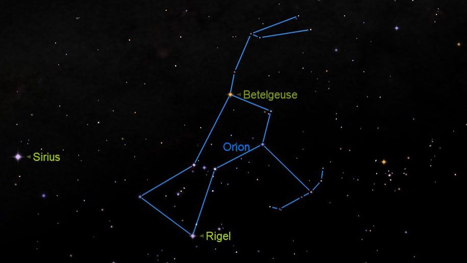 Betelgeuse and Rigel: A tale of the two brightest stars in Orion