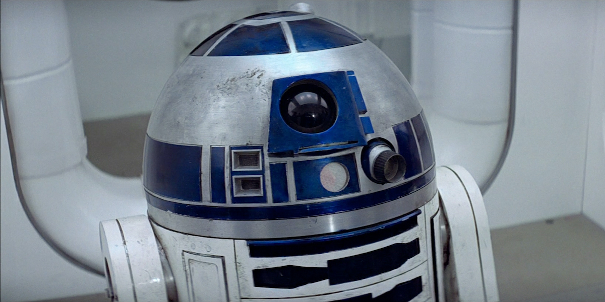 R2-D2 in Star Wars: A New Hope