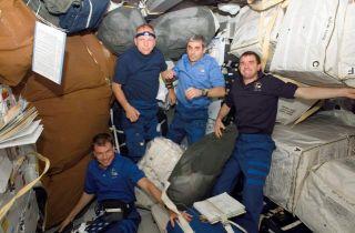 Shuttle Flight Back on Track After Astronaut's Illness
