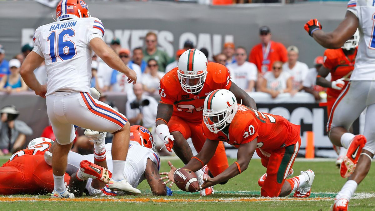 How to Watch Miami vs. Florida: Live Stream the Hurricanes and Gators NCAA College Football Game