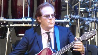 Elton John guitarist and Acoustic Guitarist of the Year judge John Jorgenson