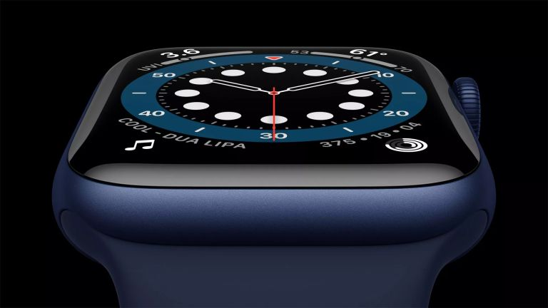 Apple Watch microLED display