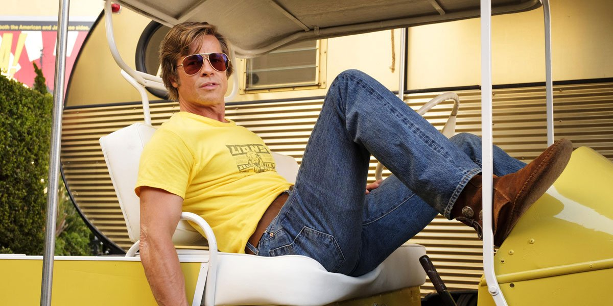 Brad Pitt in Once Upon A Time In Hollywood 2019