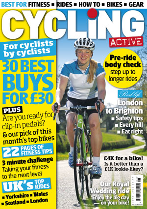 Cycling Active June 2011 cover