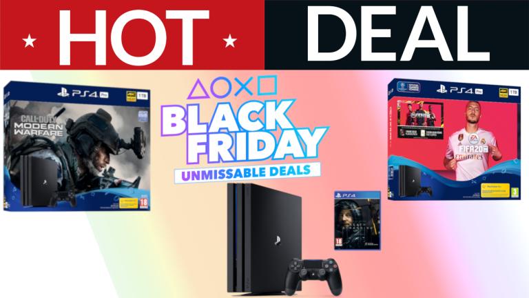 PS4 Pro bundle deal PlayStation Black Friday