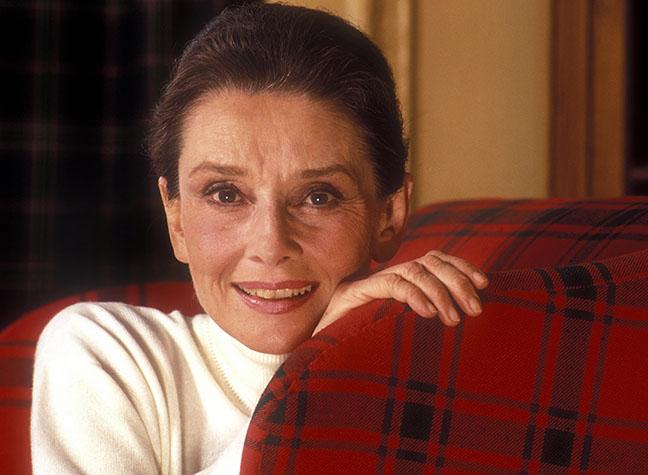 Image result for an older Audrey Hepburn
