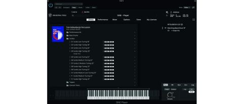 Orchestral Tools Tom Holkenborg's Percussion