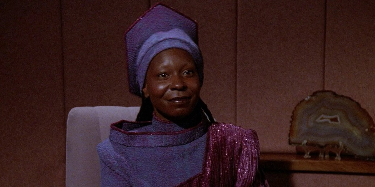 Whoopi Goldberg Guinan Star Trek: The Next Generation