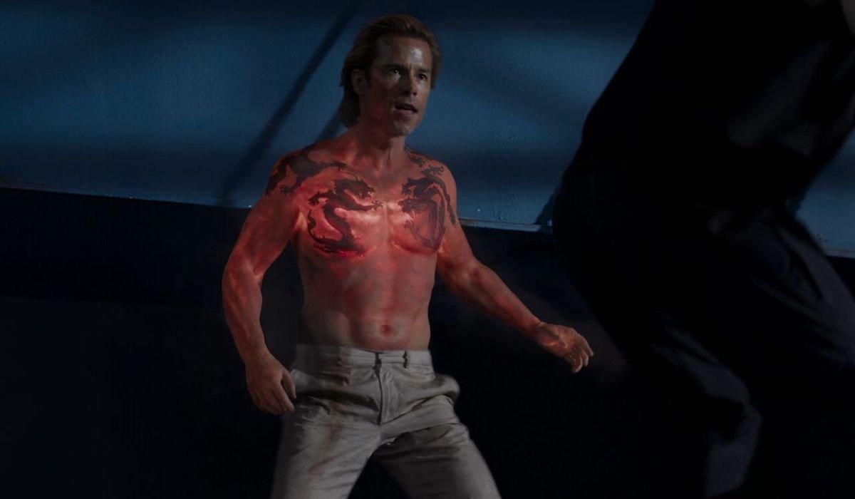Guy Pearce Aldrich Killian in Iron Man 3
