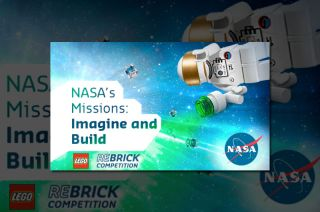 'NASA's Missions: Imagine and Build' Lego Contest