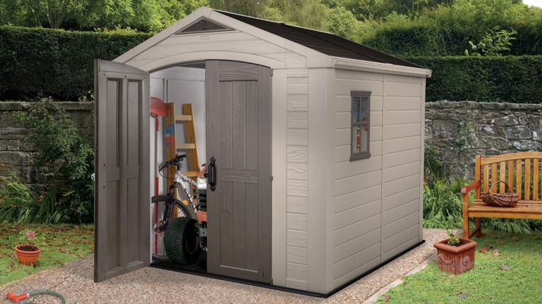 Best garden shed: Keter Factor Plastic Shed