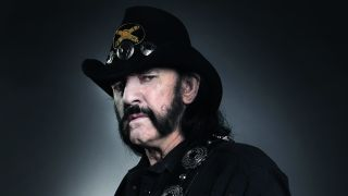 A portrait of Lemmy taken in 2015