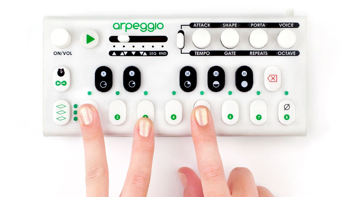 Arpeggio is a mini melody-making machine that comes with a built-in synth