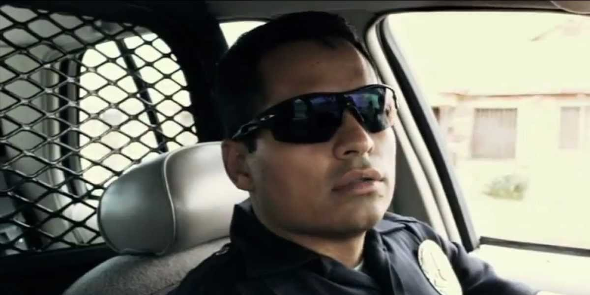 Officer Zavala in End of Watch