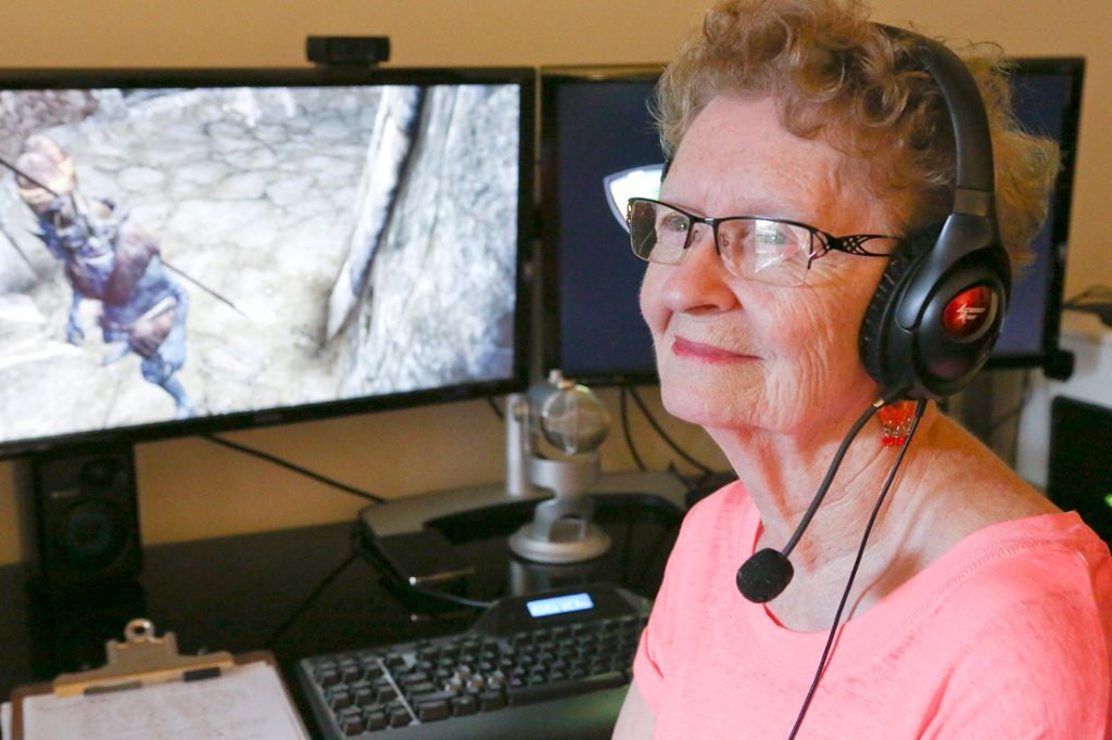 What it's like to become a YouTube gaming celebrity at 80 years old