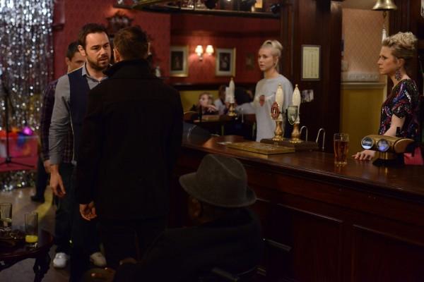 Mick confronts Dean (BBC/Kieron McCarron)