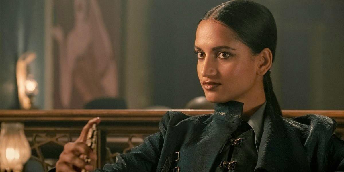 Amita Suman as Inej in Shadow and Bone.