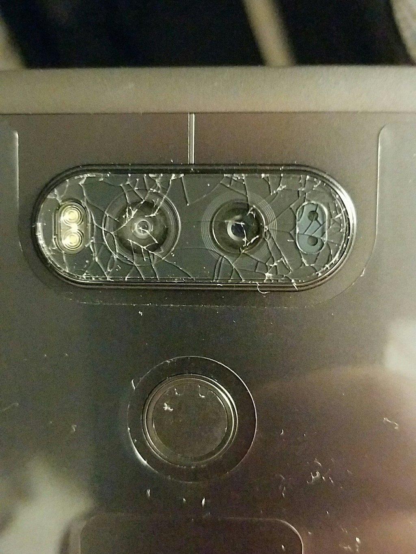 Shattergate: LG V20 Camera Glass Reportedly Cracking | Tom's