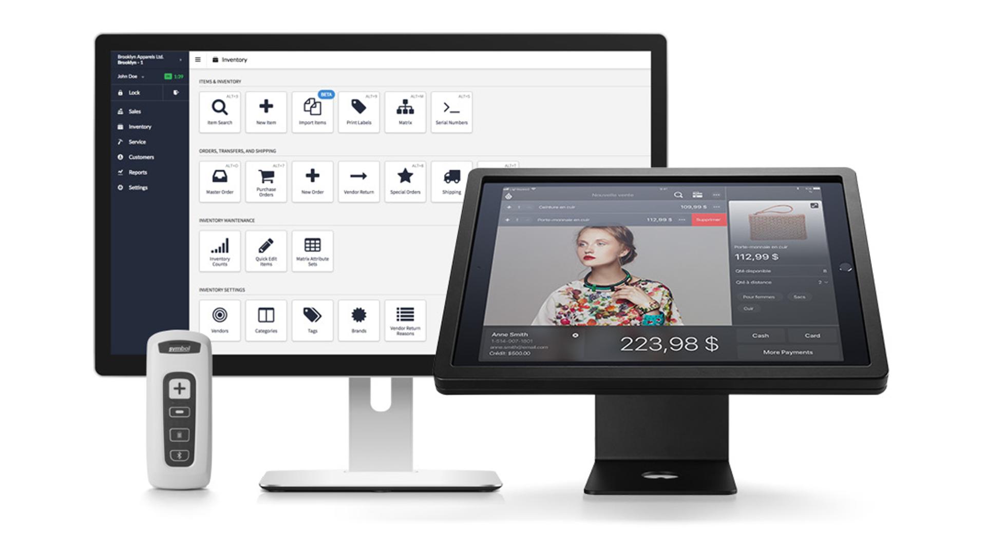 Lightspeed's iPad and desktop solutions