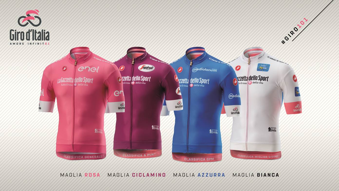 Giro d Italia 2018 jerseys unveiled - Cycling Weekly e50d2895a