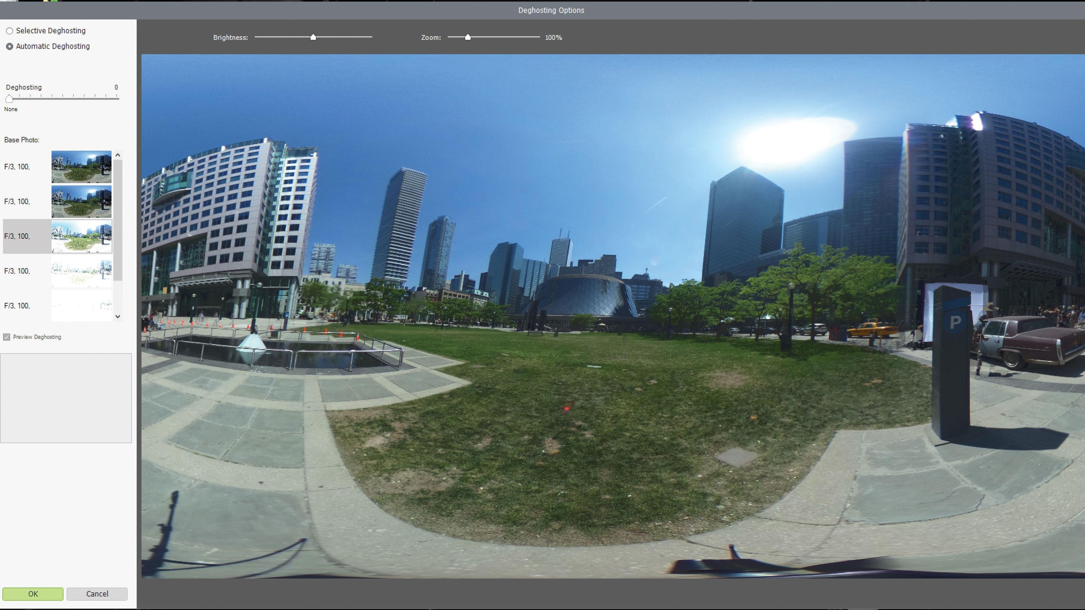A screenshot from Photomatix Pro