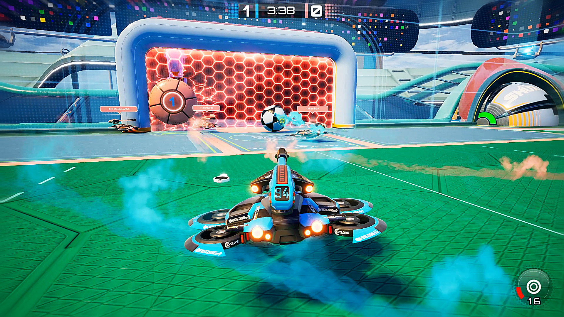 The Rocket League-like Axiom Soccer is free and out today on Steam Early Access