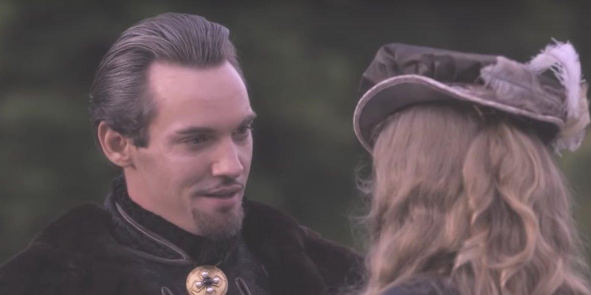 King Henry VIII on the hunt in Season 4 of The Tudors