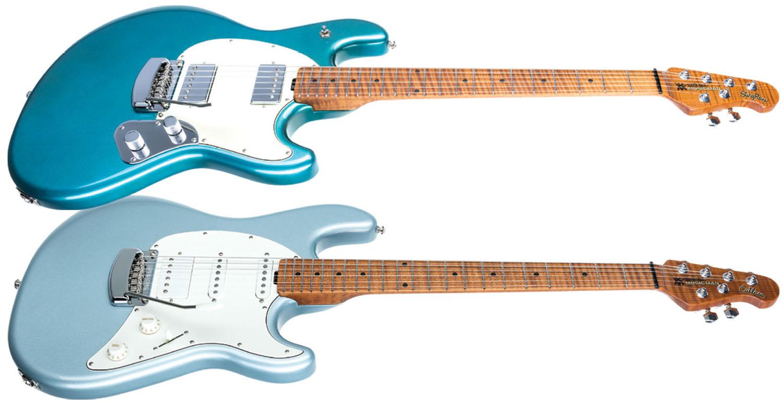 Review Ernie Ball Music Man Cutlass Hss Rs And Stingray Rs Guitar World