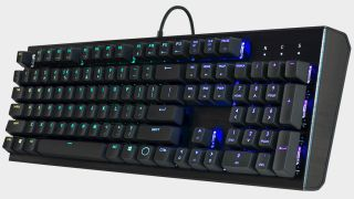 Cooler Master's 'no-nonsense' mechanical gaming keyboard is back down to $48