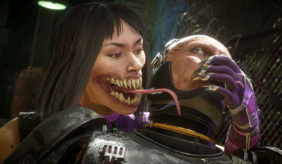 Mortal Kombat 11 Mileena ready to bite into Robocop