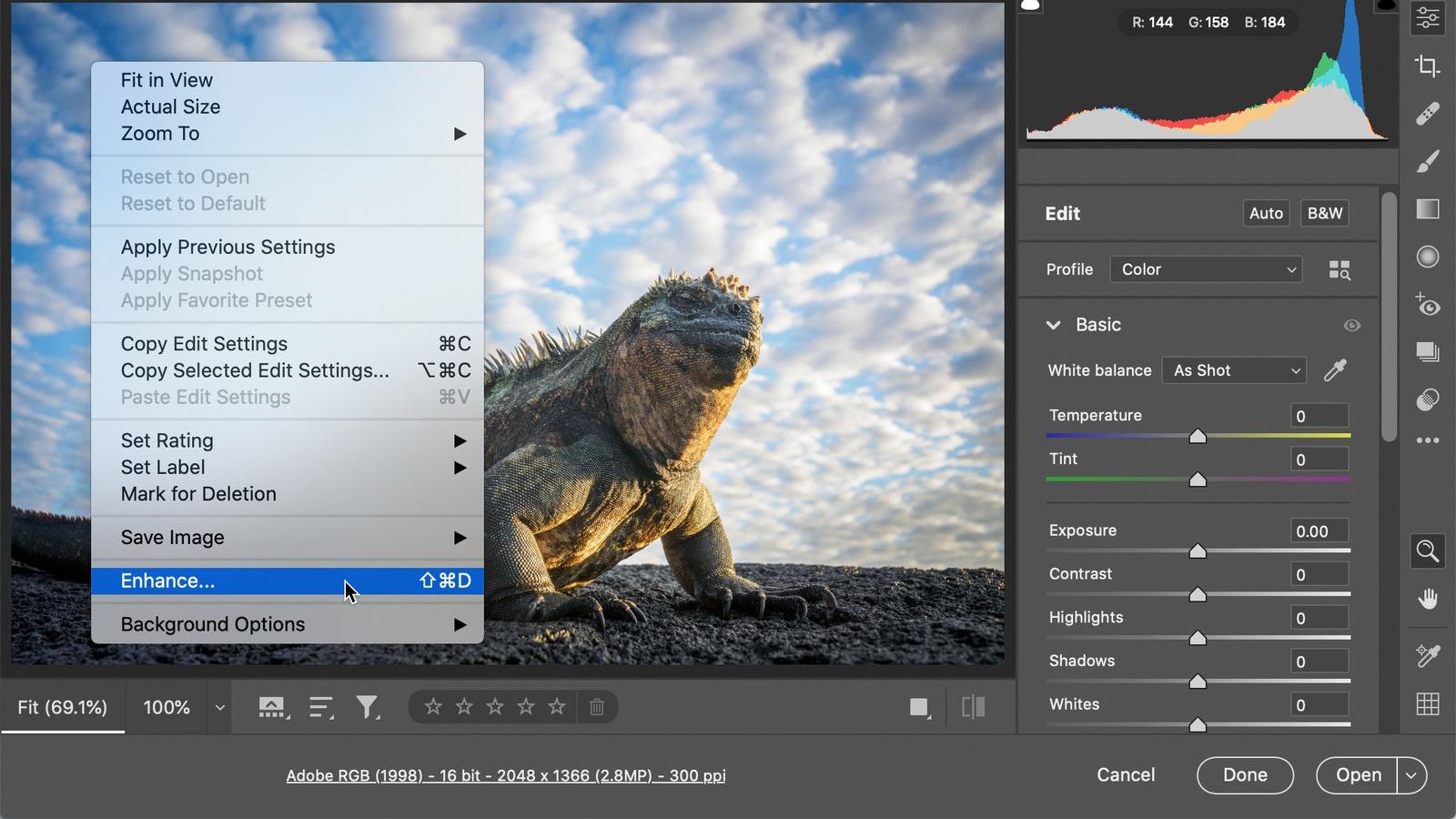 Adobe Super Resolution